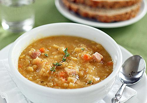 Крем суп из консервированного горошка рецепт