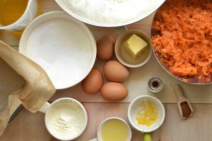 морковный торт с маскарпоне