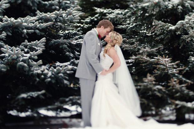 wedding winter dress