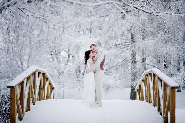 ideas for a wedding in winter