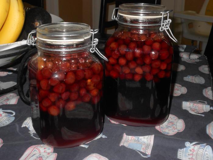 cherry liqueur recipe