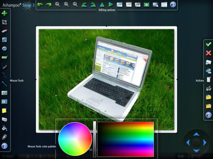 Make a screenshot of the screen on a laptop