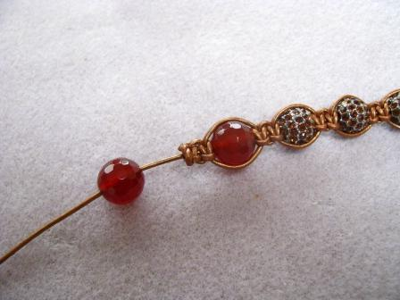 weaving bracelet shambala