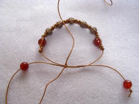 Shambala bracelet master class