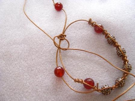 how to weave a bracelet shambala