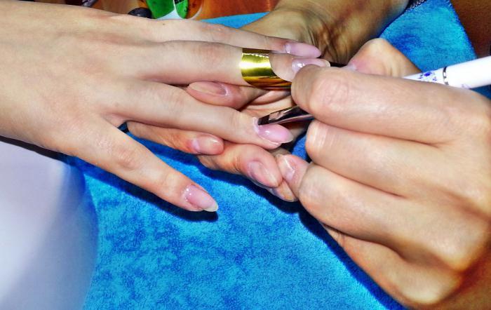 Как сделать коррекцию на нарощенных ногтях 29