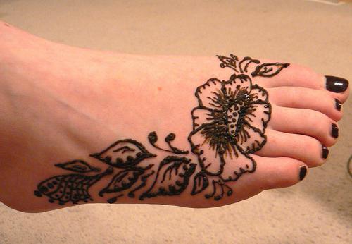how to make a temporary henna tattoo