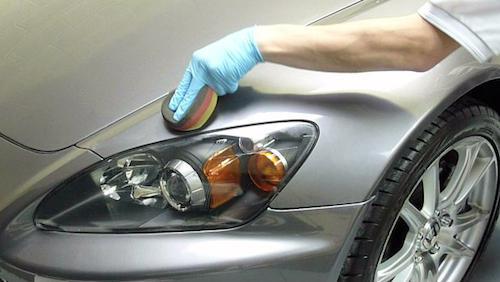как полировать машину после покраски