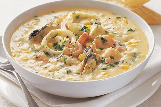как приготовить суп и коктейля из морепродуктов