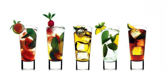 коктейли алкогольные рецепты