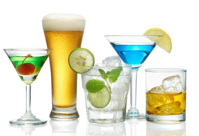 домашние коктейли алкогольные
