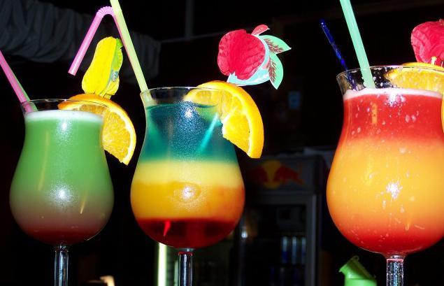простейшие алкогольные коктейли