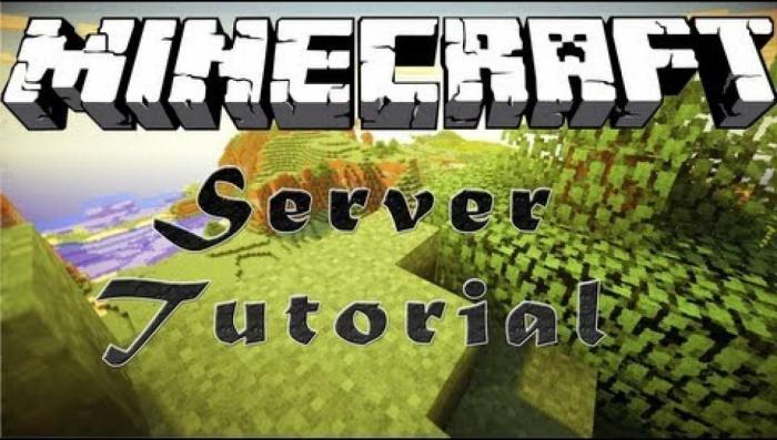 minecraft как сделать сервер