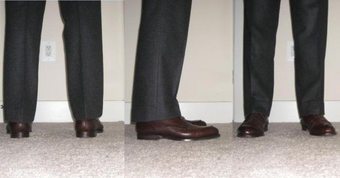 Как подшить брюки правильно