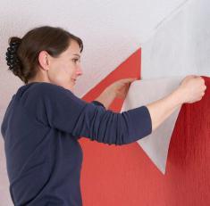 structural non-woven wallpaper
