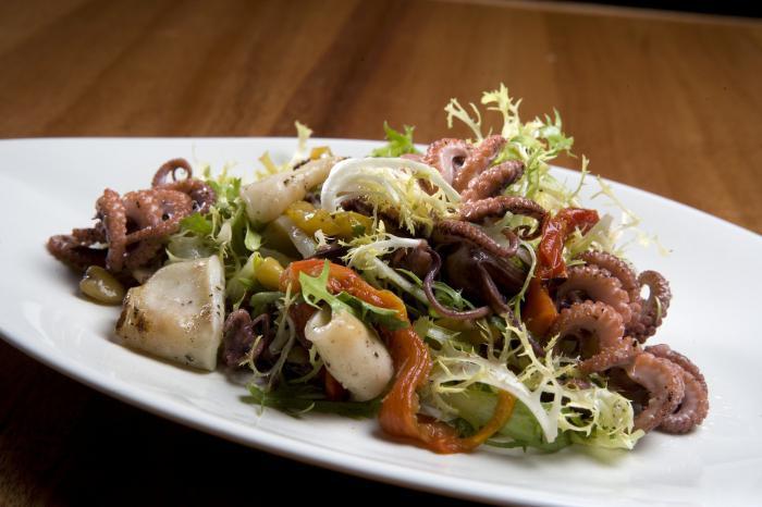 рецепты вкусных морских салатов с фото