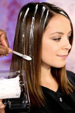 Перышки на волосах в домашних условиях 155