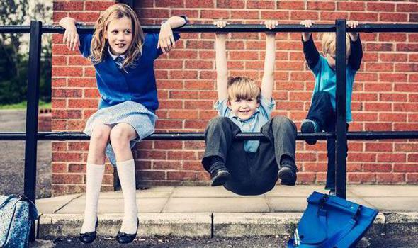 The first days of the child at school
