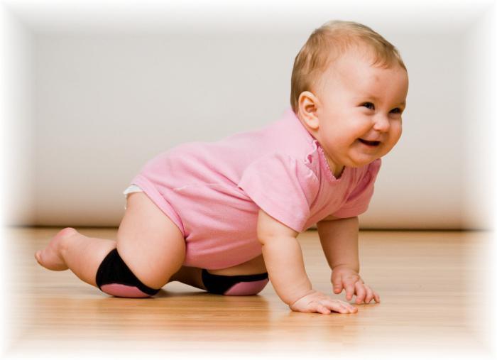 Рост ребенка в 7 месяцев таблица