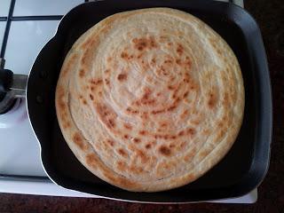 Uzbek tortillas in the oven