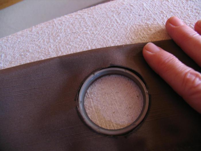 Как сшить занавески с кольцами 37