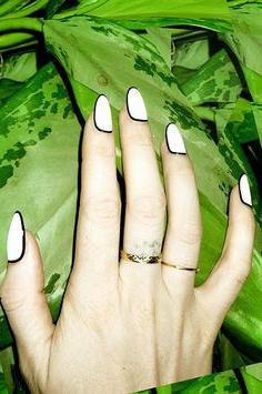 как наращивать ногти на формы