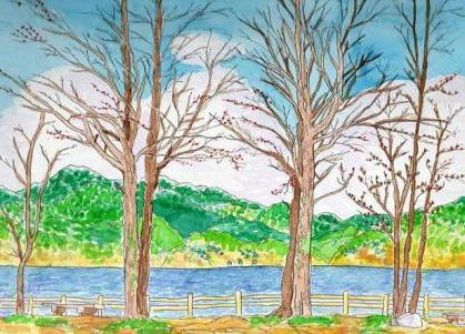 Картинки природа как рисовать