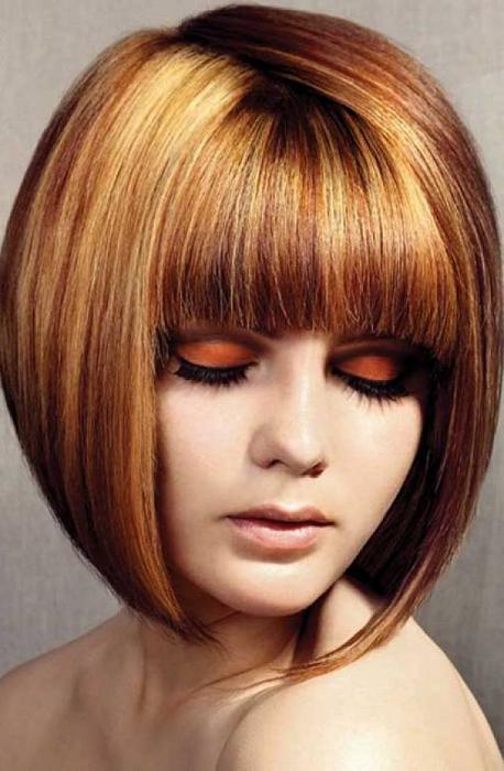 стрижки на волосы средней длинны