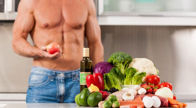 diet for gaining muscle mass