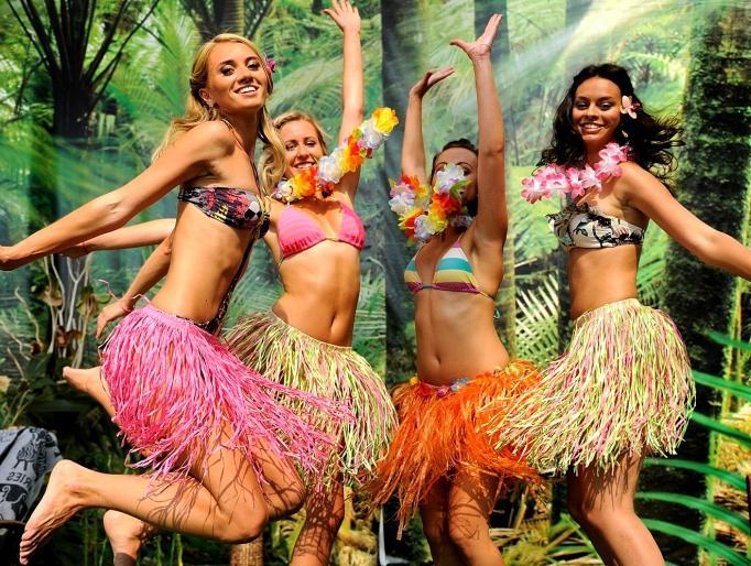 Hawaiian party photo