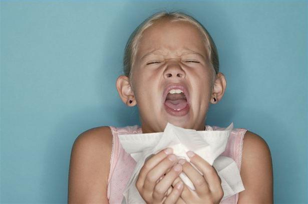 аллергия на пыль от ногтей