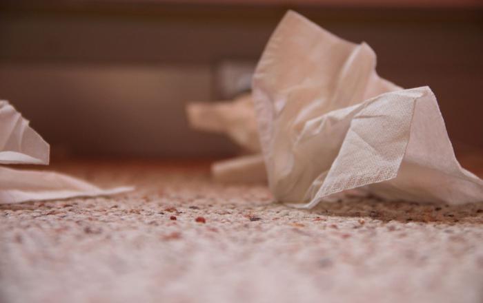 аллергия на цементную пыль