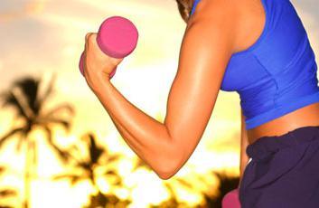 как похудеть в руках и животе