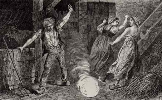 Ball lightning. How to behave