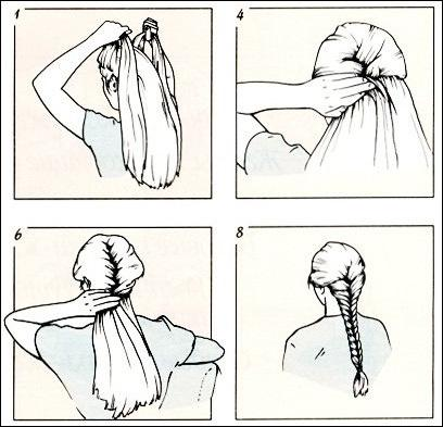 Как научится заплетать косички
