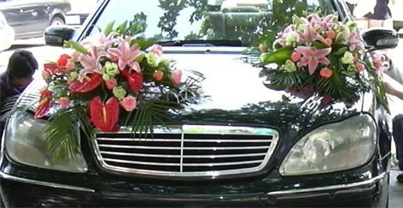 украшение свадебного авто своими руками