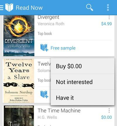program for books on android