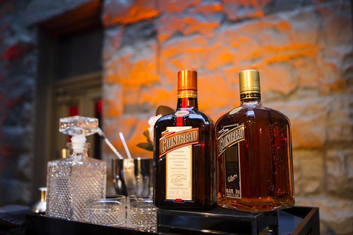 Cointreau orange liquor