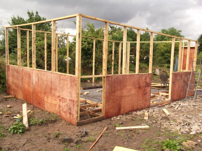 начало строительства частного дома
