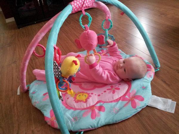 Развивающий коврик для новорожденного своими руками 80