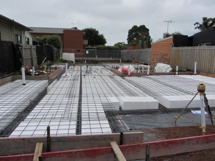 formwork for the foundation do it yourself