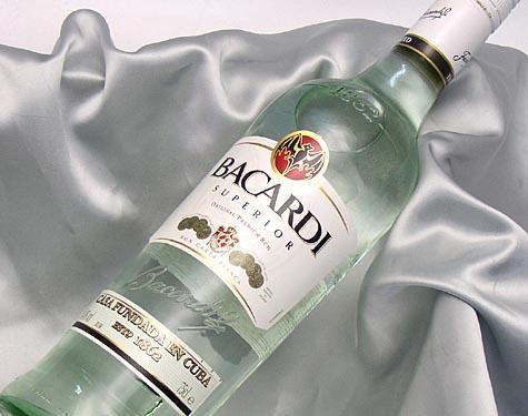 what can replace white rum