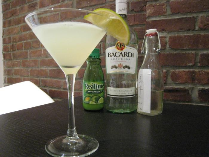 how to drink rum bacardi white
