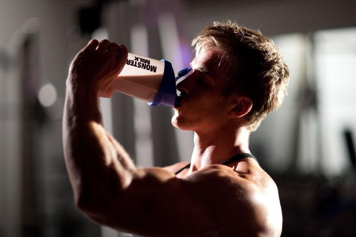 how to drink protein