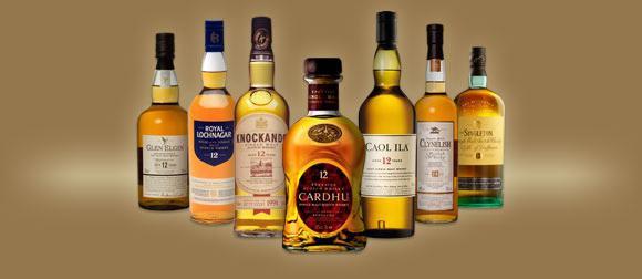 Alcoholic drink scotch