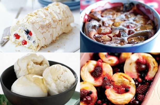 Dietary desserts