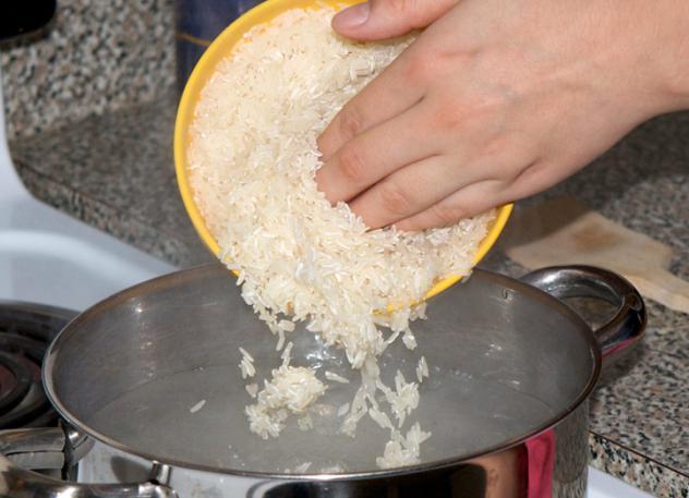 Варим рис пошаговый