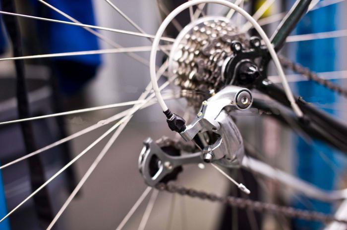 переключатель скоростей на велосипед