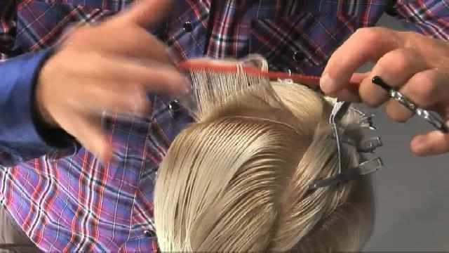 Как самому сделать филировку волос