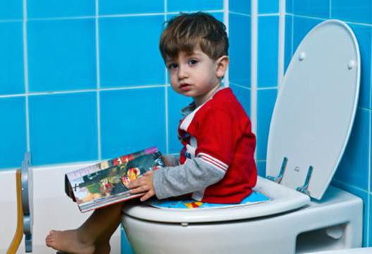 Что делать если ребенок не какает на горшок